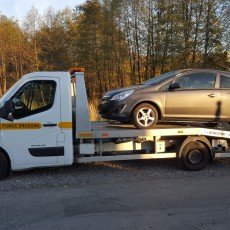 opel astra na autolawecie renault master