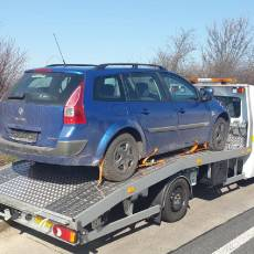 Pomoc Drogowa Zico podczas transportu samochodu Renault