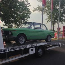 Pomoc Drogowa Zico podczas transportu samochodu BMW
