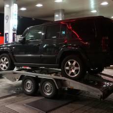 Pomoc Drogowa Zico podczas transportu samochodu terenowego