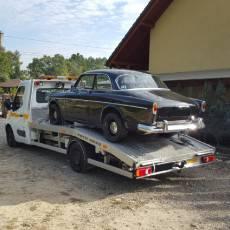 Pomoc Drogowa Zico podczas transportu zabytkowego auta
